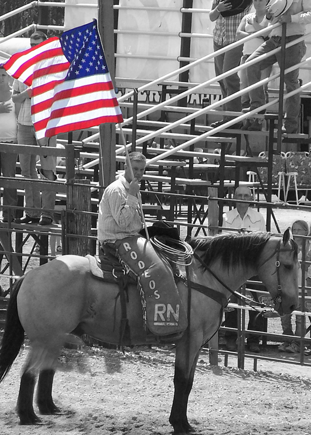 US Flag Rodeo 2010
